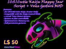 [CS] Cutie Kaiju Flappy Jaw Script and Gesture MOD