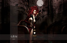 +gemposes+ - lantern witch -
