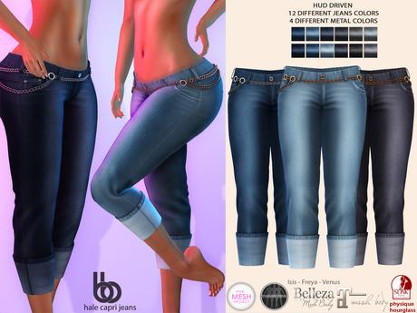 Bens Boutique - Hale Capri Jeans - Hud Driven