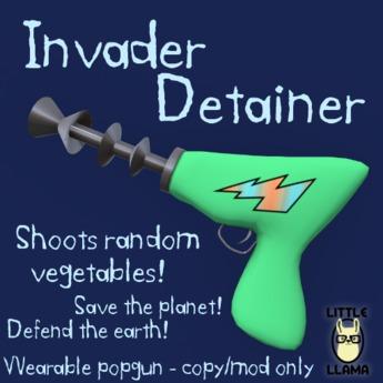 Little Llama - Invader Detainer