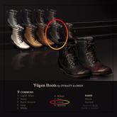 8. DYNASTY x O.M.E.N - Yugen Boots - Green