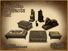 *GALLI* - MESH - Egyptian Artifacts Set - Copy & Mod