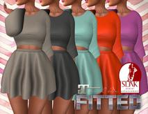 [MALAGA]Dress with Cutout