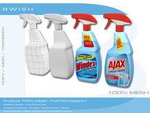 BWish - Window Cleaner Spray Bottle Mesh 2 Models