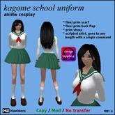 haxworx 1281 - kagome school uniform