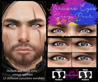 .Viki. Narcisus Eyes - Grey Pack