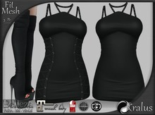 ::KRALUS:: Fit-Mesh : Minxie : Black