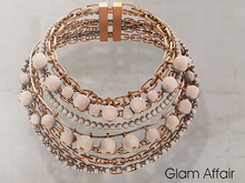 Glam Affair - Zafrina Necklace Cream