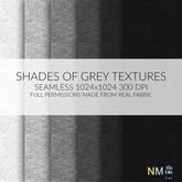 Textures Shades of Grey Cotton Fabric Seamless Full Perm