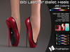 50% OFF :)(: Bibi Leather Ballet Heels - All Colors Slink Pointe Feet - Gaeline Pointe Bare Feet - EVE Body mesh