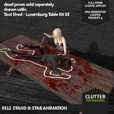 CLUTTER - 0312 Stand & Stab Animation
