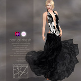 Snowpaws - Licou Etched Halter Dress - Appliers included