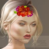 Snowpaws - Tomelise Floral Headpiece - Freesia