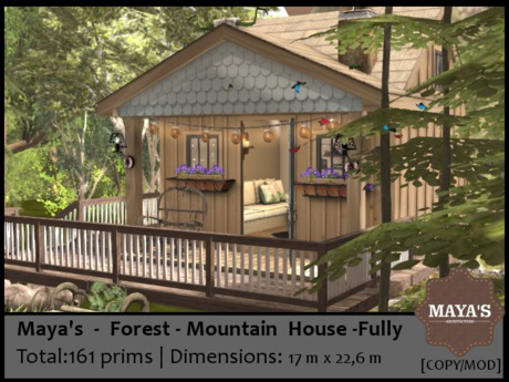 Maya's - Forest Mountain House - Fully