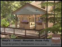 Maya's  - Forest Mountain House -Fully
