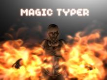 Magic Typer - FLAME CRAFTER