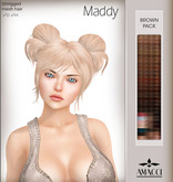 Amacci Hair - Maddy - Brown Pack