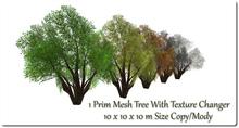 1 Prim Mesh Tree With Changer 10x10x10m Size 10/16  copy/mody