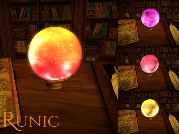 .: Runic :. Magical Orb (Colors)