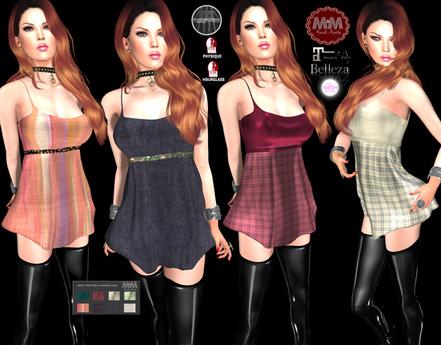 M&M-ASH DRESS MESH-O