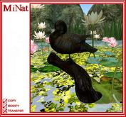 MiNat - bronze statue of duck