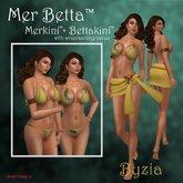 Mer Betta™ Byzia Merkini™ + Bettakini™ v3c bikini set