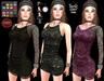 M&M-SELENA HALTER DRESS-O