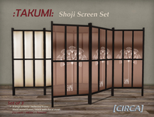 [CIRCA] - :TAKUMI: - Shoji Screen Set of 3
