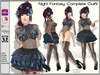 !FP! Night Fantasy Complete Outfit - Omega Slink Hourglass Physique Maitreya Belleza Classic Avatars