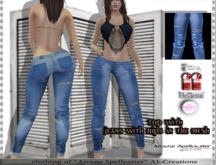 bag jeans rip blue *Arcane Spellcaster* Ak-Creations
