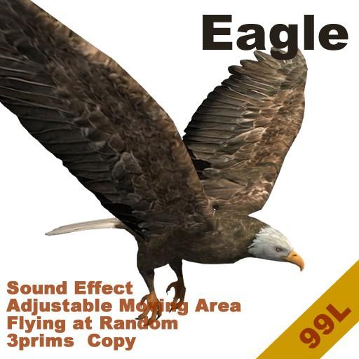 [TomatoPark] Bald Eagle Mesh