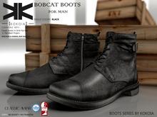 Bobcat :: Shoes Male :: Black :: {kokoia}