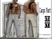 bag Cargo Pant grey *Arcane Spellcaster*Ak-Creations
