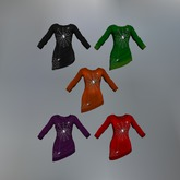Ghost Spider Fitmesh Sweater Dress (Fatpack)