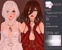 [^.^Ayashi^.^] Shijima hair-White set