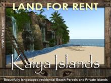 LAND RENTAL - on the Kaiya Islands
