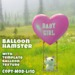 Balloon Hamster - Baby Girl - PERFECT VALENTINE'S GIFT