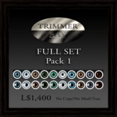 Eyes 'Full Set of 10 Normal & Passion Eyes' by Trimmer Bay