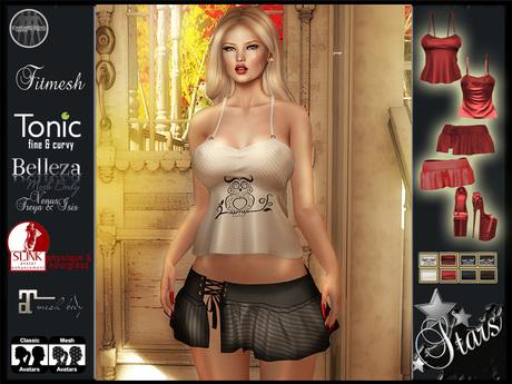 "Stars Fashion - Women causal clothes for Maitreya,Classic,Physique,Hourglass,Isis,Venus,Freya: ""Hanna"""