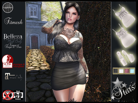 """Stars - Women causal clothes for Maitreya,Physique,Hourglass,Isis,Venus,Freya: """"Wendy"""""""