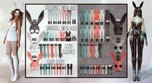 Addams - Bad Bunny & Good Bunny - Maitreya - complet set