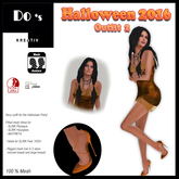 .:Do's:. Halloween Outfit 2  2016