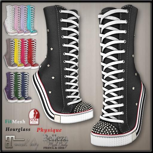 Ducknipple - TipToe Sneakers vs1