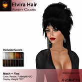 ON SALE! A&A Elvira Hair Variety Colors Pack. Mesh + Flexi long womens hairstyle