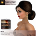 A&A Keira Hair Ombre Colors Pack.  Resizable mesh womens updo hairstyle