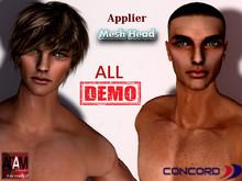 :::CONCORD::: ADAM mesh head appliers ALL DEMO (wear me)