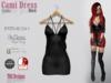 Cami dress gothic black
