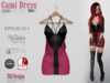 Cami Dress Gothic Pink