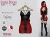 Cami Dress Gothic Red