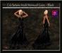 Cele'Sations Mermaid Mesh Gown ~ Black [ Maitreya Belleza TMP Eve Slink ]
